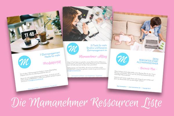 Mamanehmer Ressourcen