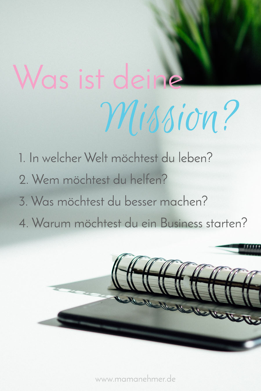 Was ist deine Mission Pinterest
