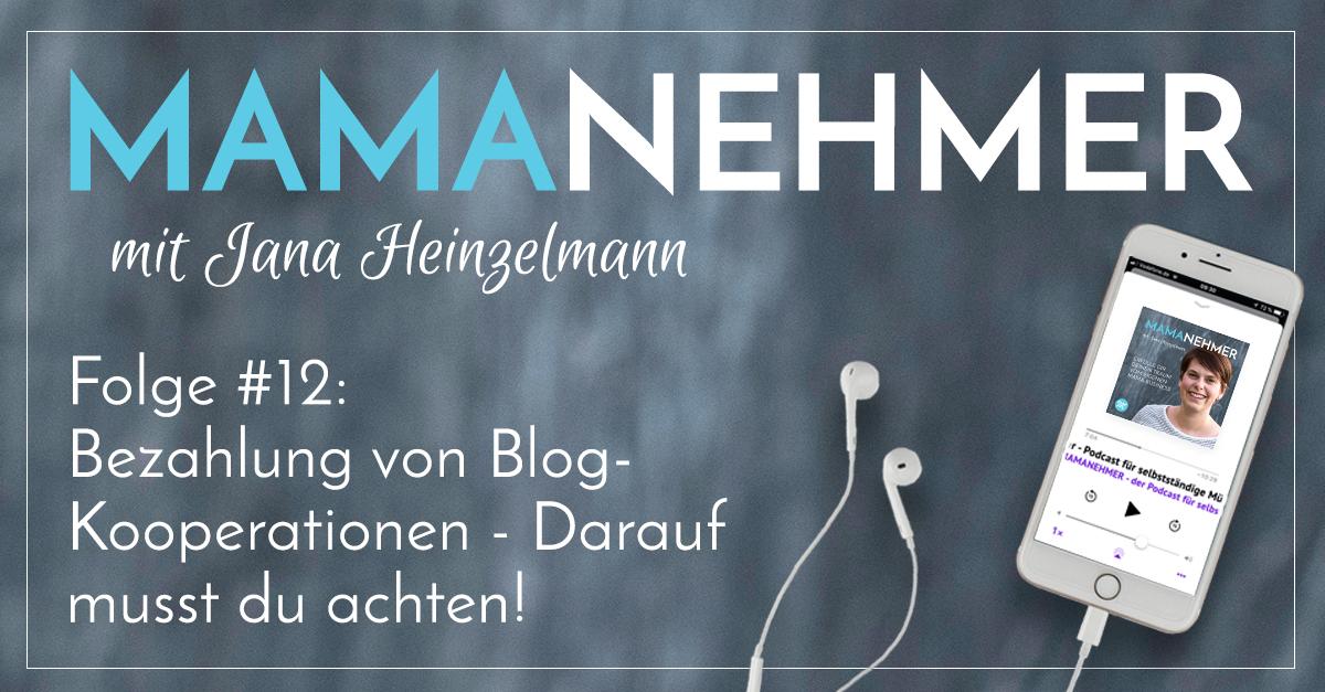 012 - Ueber Geld spricht man nicht - Bezahlung bei Blog-Kooperationen