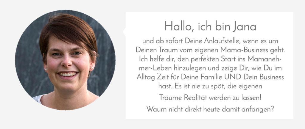 Jana Heinzelmann Vorstellung Mamanehmer
