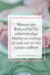 Babyschlaf ist für selbstständige Mütter eine heilige Sache! Warum das so ist und wie du ihn als Mamanehmer sinnvoll für dein Mama-Business nutzen kannst, erfährst du in dieser Podcast-Episode! Einfach auf das Bild klicken & loshören oder nachlesen! #Mamanehmer #MompreneurDe #selbstständigeMutter #MamaBusiness