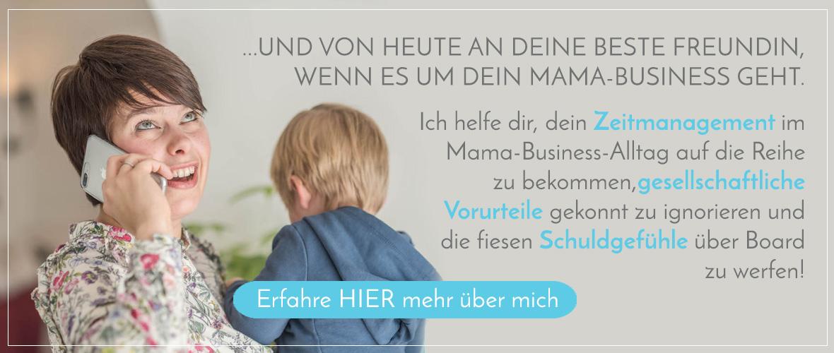 Mamanehmer Vorstellung Jana Heinzelmann mit Button