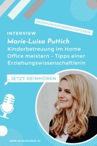 Kinderbetreuung im Home Office meistern – In diesem Interview verrät dir Erziehungswissenschaftlerin Marie-Luisa Puttich, wie du das schaffst. Außerdem sprechen wir über die Hooray-Box und die Kita-to-go. Auf meiner Webseite kannst du dir das ganze Interview jetzt anhören. #HoorayBox #KitaToGo #Mamanehmer #Mompreneur #MamaBusiness #SelbstständigeMutter