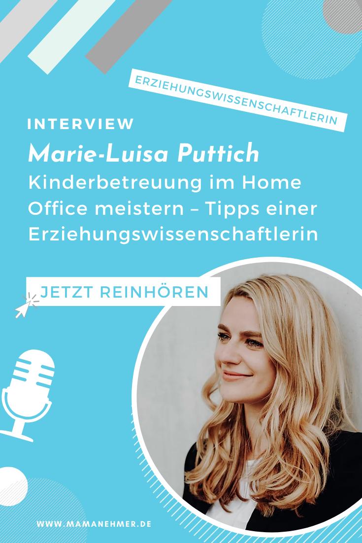 Kinderbetreuung im Home Office meistern – Tipps von Erziehungswissenschaftlerin und Kita-To-Go Gründerin Marie-Luisa Puttich