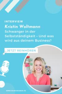 Selbststaendig schwanger - Kristin Woltmann Pin 4