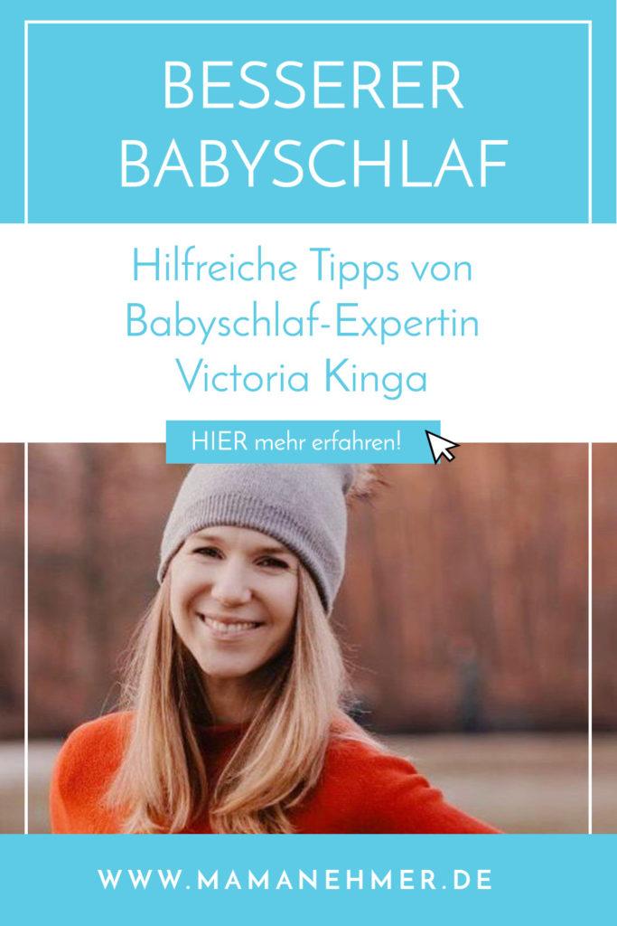 Babyschlaf - Wie du deinem Baby zu besserem Schlaf verhelfen kannst – Interview mit Victoria vom Kingababy Podcast
