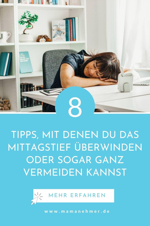 8 Tipps mit denen du das Mittagstief überwinden oder sogar ganz vermeiden kannst